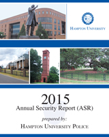 Annual Security Report 2015 (Adobe PDF)